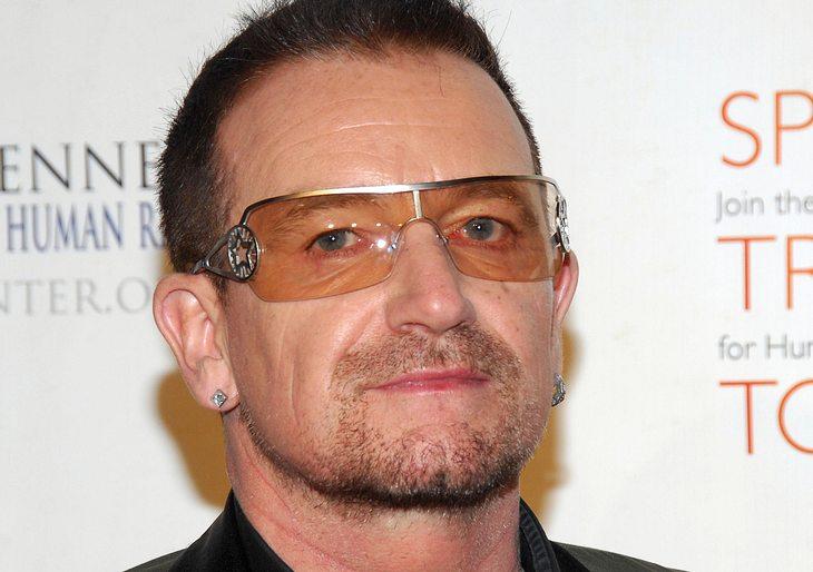 Bono wieder auf den Beinen