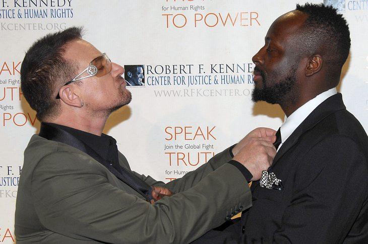 Wyclef war als Teenager U2-Fan
