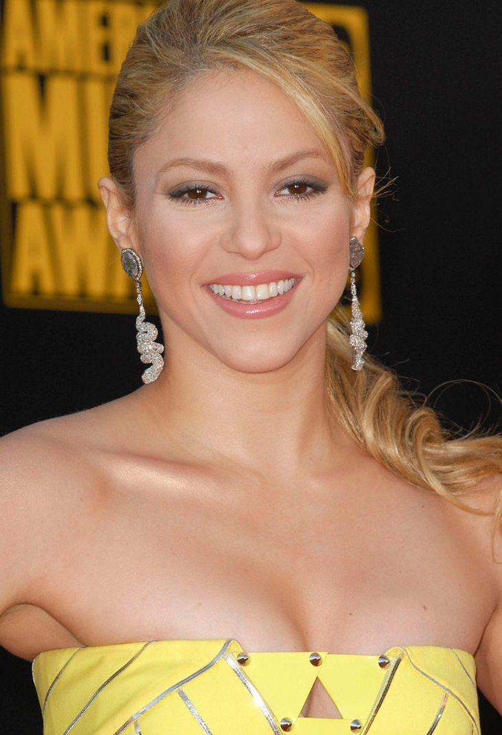 """Shakira und Lena Meyer-Landrut bei """"Wetten, dass..?"""""""