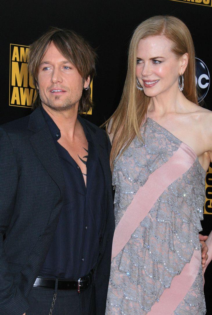 Keith Urban gibt Vatertag für Nicole Kidman auf