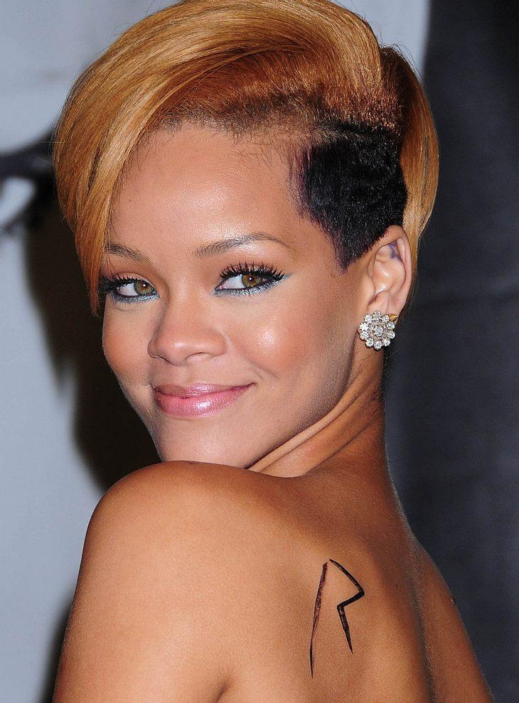 Rihannas Kleider-Panne