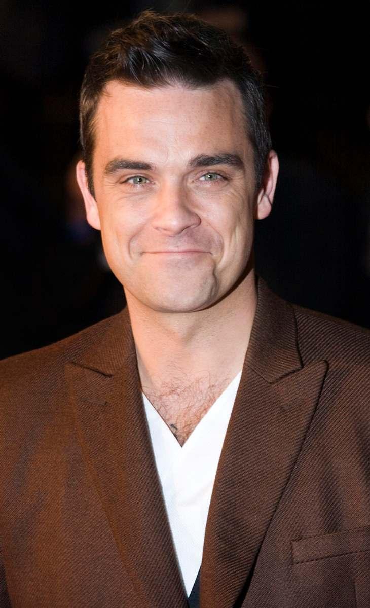 Robbie Williams singt für Sport Relief