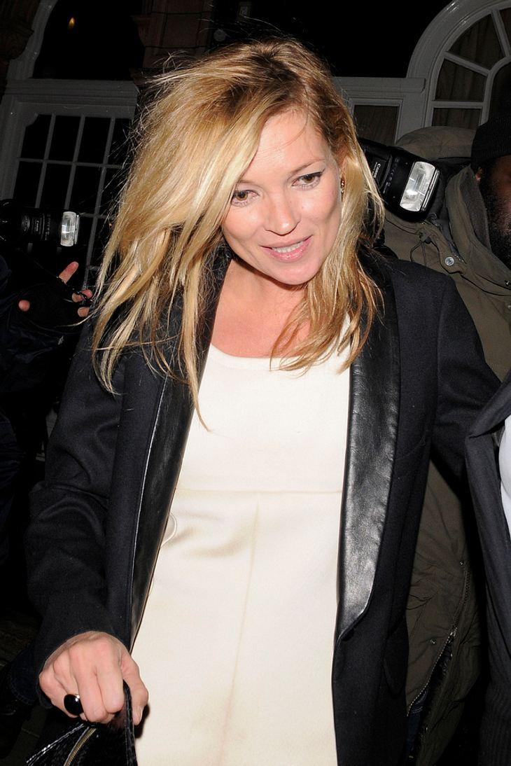 """Kate Moss: """"Ich höre nicht mit dem Modeln auf"""""""