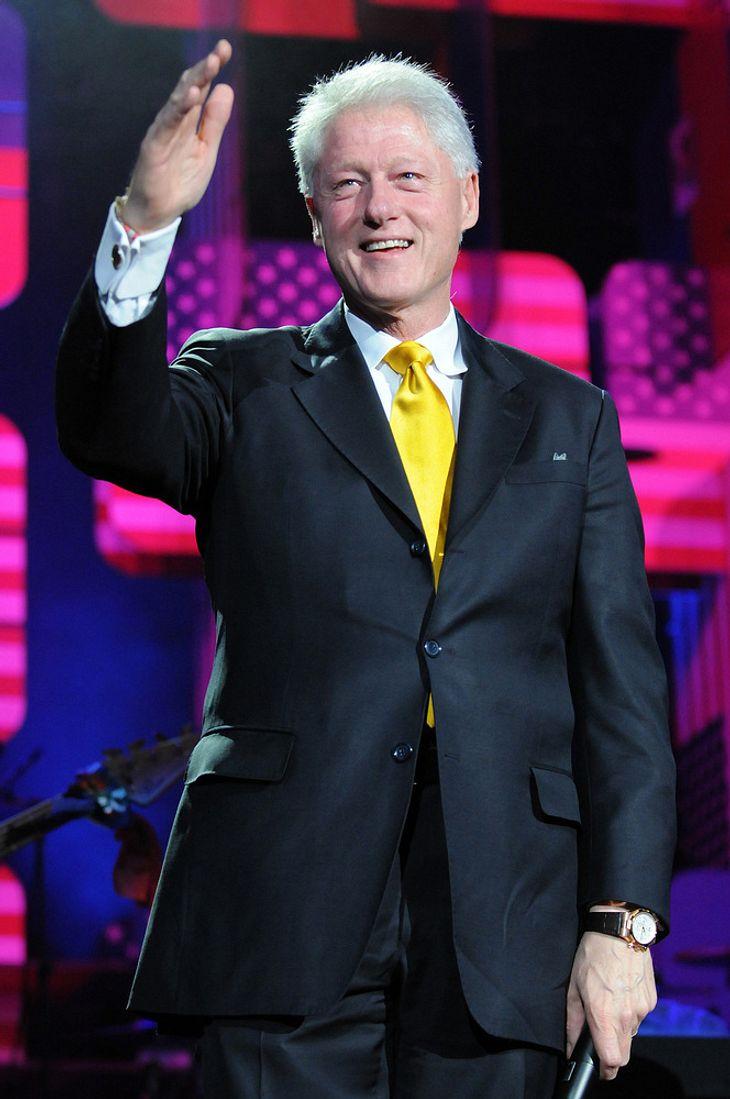Bill Clinton erholt sich nach OP