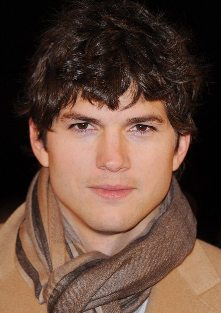 Ashton Kutcher nervös wegen Oben-ohne-Filmszene