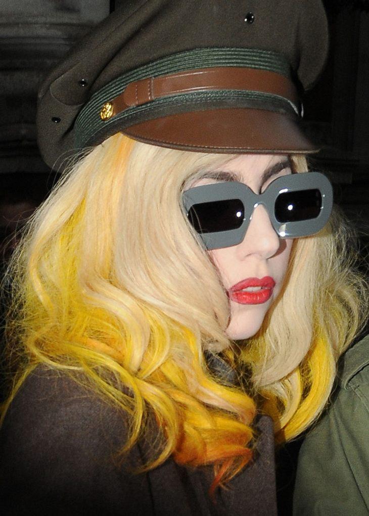 Sonnenbrillen von Lady Gaga?