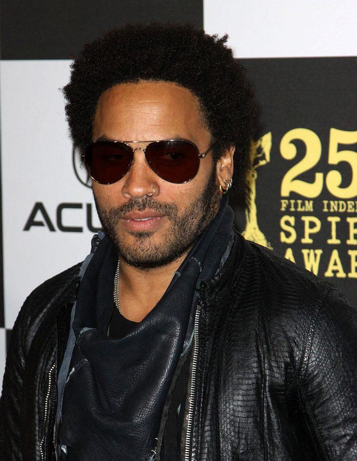 U2 überzeugten Lenny Kravitz zu touren