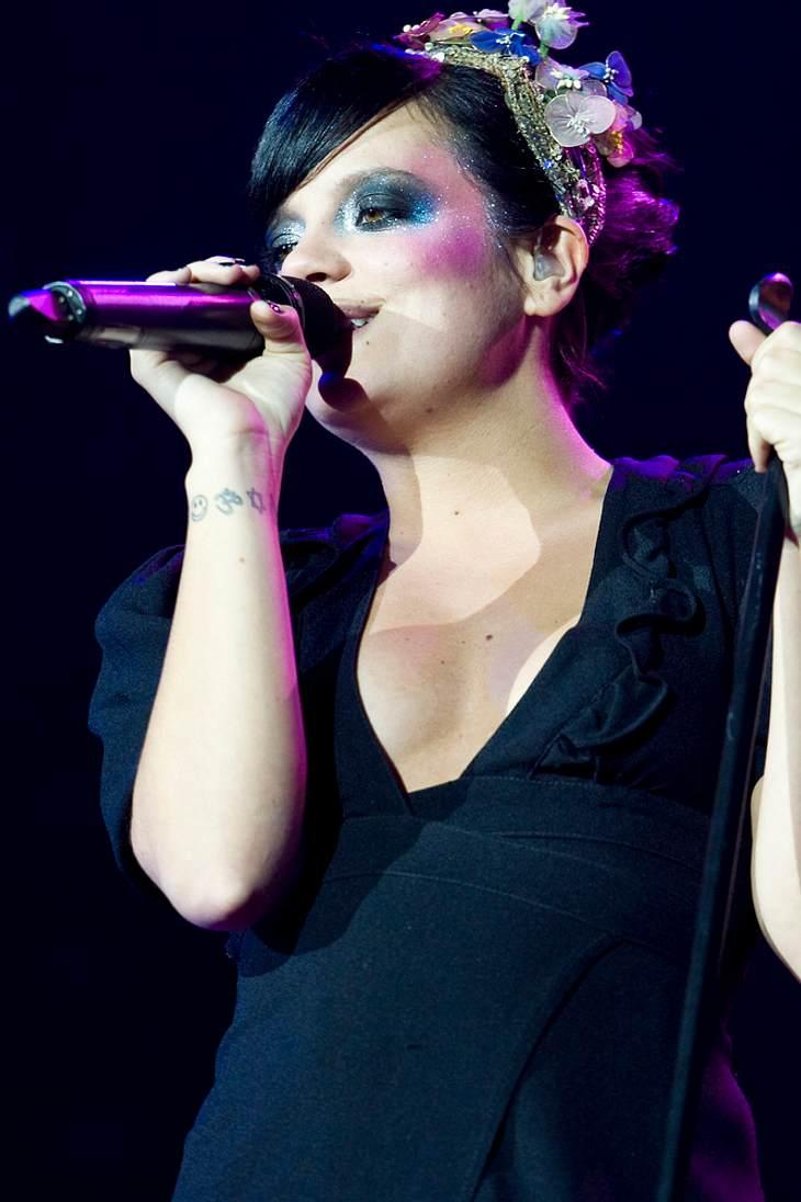 Lily Allens Tränen über Fan-Rangelei