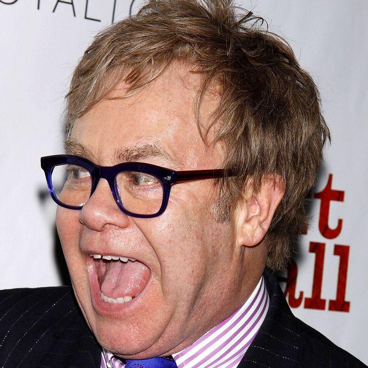 Elton John verteidigt Rap-Stars
