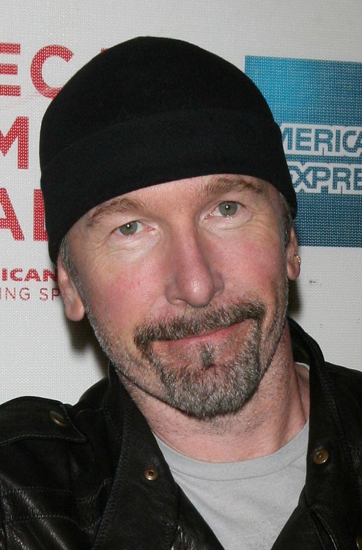 U2-Star The Edge rockt mit Muse beim Glastonbury