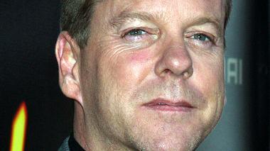 Kiefer Sutherland preist Mediziner für rasche Zysten-Behandlung