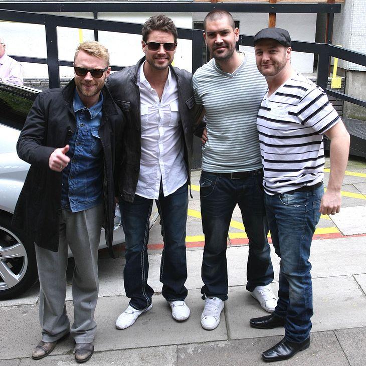 Boyzone planen Tour zum 20-jährigen Jubiläum