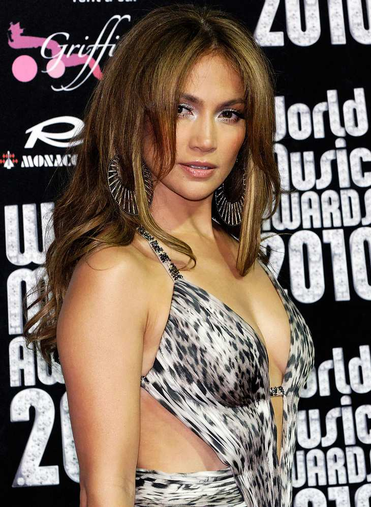 Jennifer Lopez strahlt bei World Music Awards