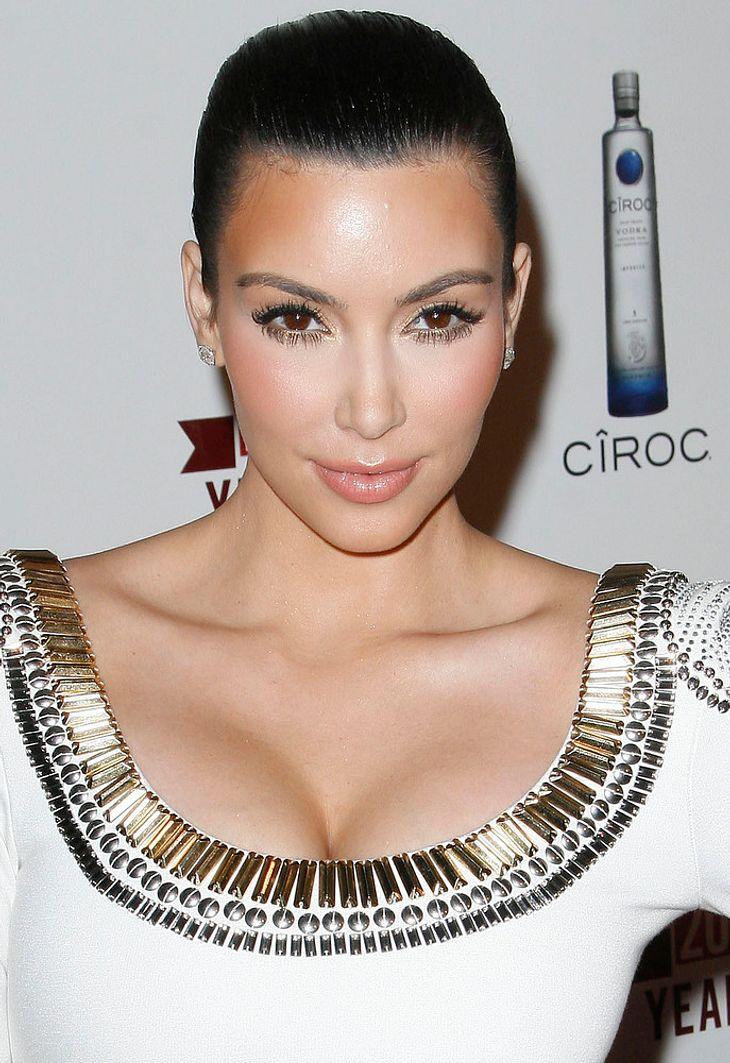 """Kim Kardashian: """"Ich habe Botox ausprobiert"""""""