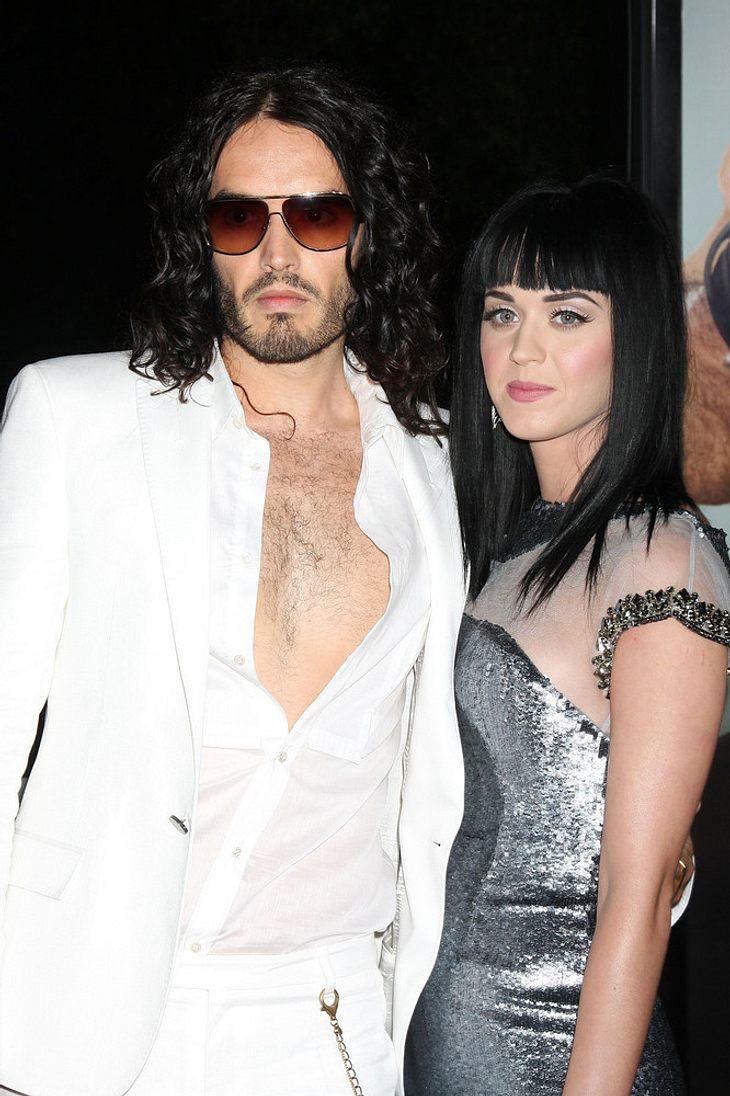Katy Perry schießt Russell Brand auf den Mond!