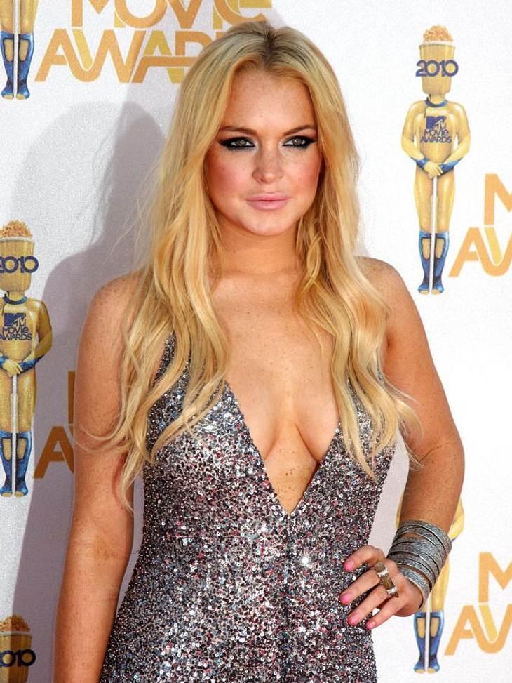 Lindsay Lohan war wieder auf Party