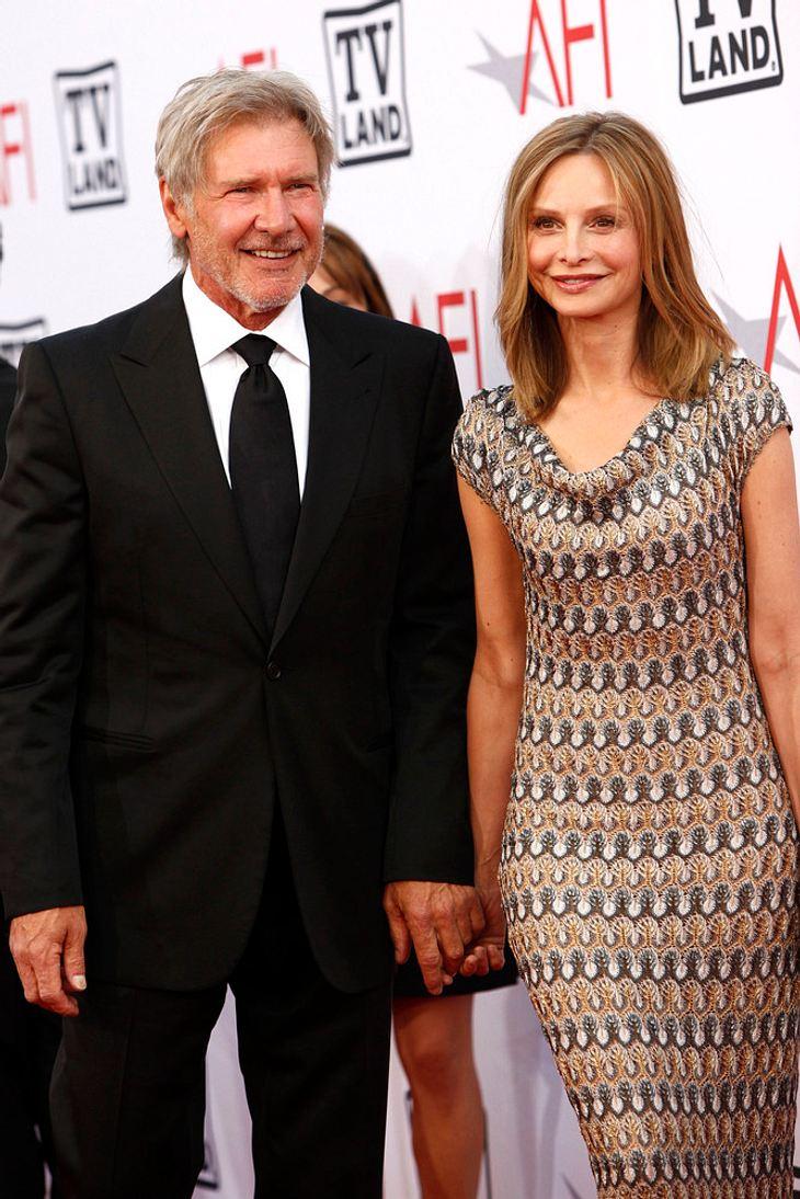 """Frischverheirateter Harrison Ford """"sehr glücklich"""""""