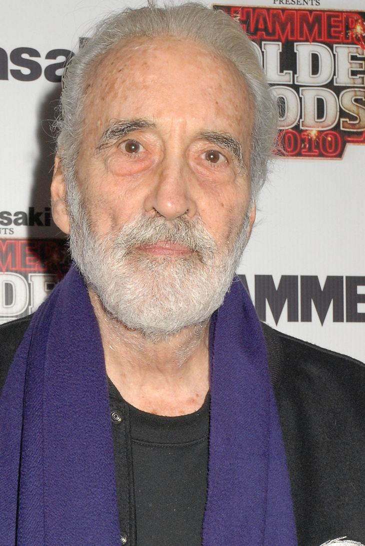Christopher Lee bei Metal Hammer Awards geehrt
