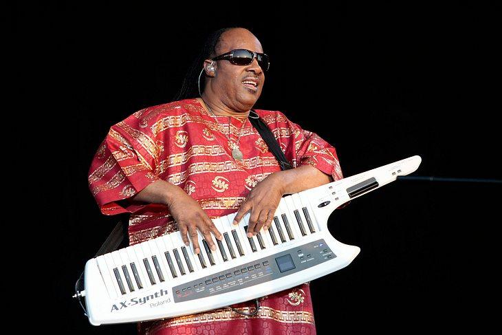 Stevie Wonders Glastonbury-Geschenk