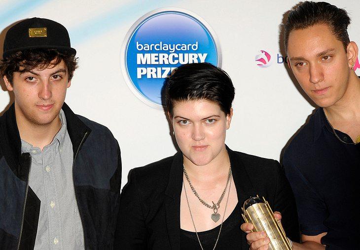 The XX gewinnen Mercury Prize