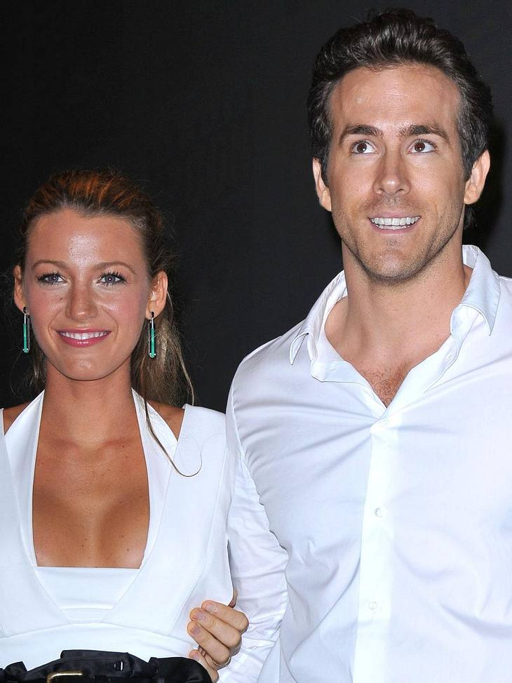 Blake Lively und Ryan Reynol haben offiziell am 14.9.2012 geheiratet.