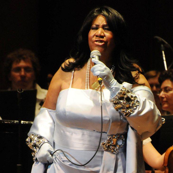 Aretha Franklin kehrt auf die Bühne zurück