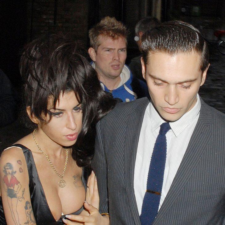 Amy Winehouse ist wieder glücklich