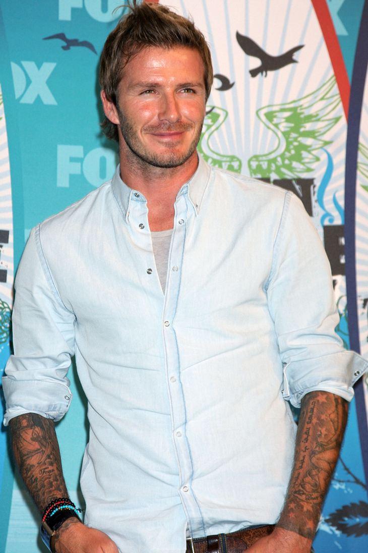 David Beckham bringt eigene Unterwäsche-Linie heraus