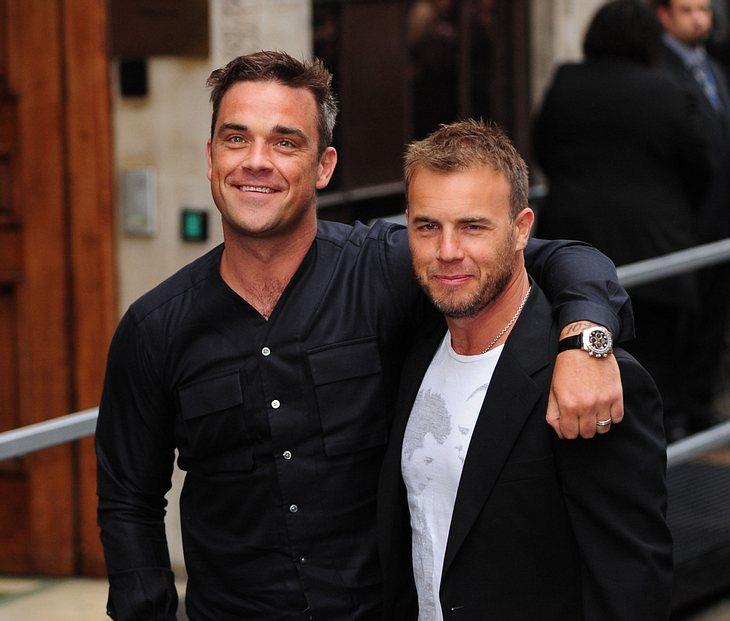 Robbie Williams und Gary Barlow: Erste gemeinsame Single am Start