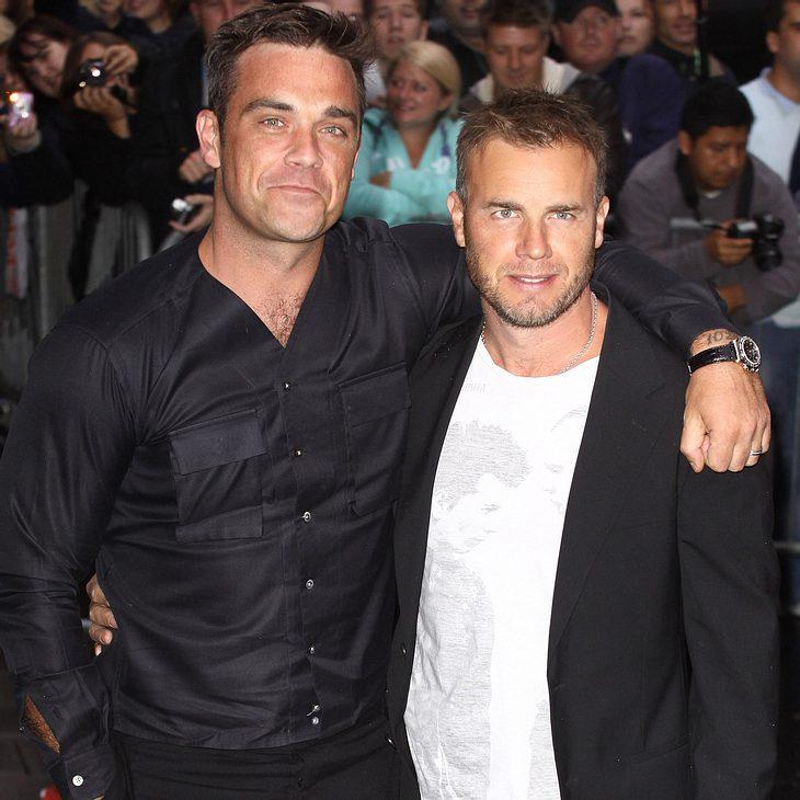 Robbie Williams bewundert Gary Barlow
