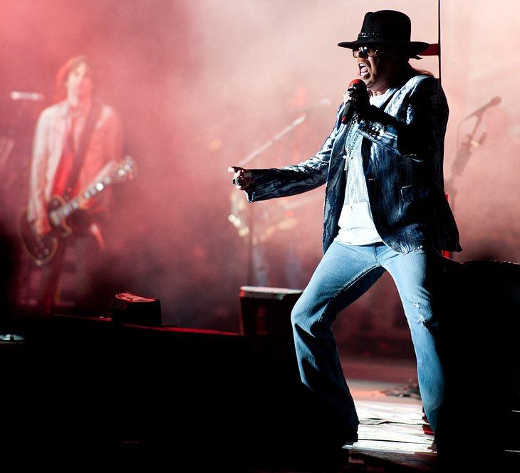 Guns N' Roses-Stars performen mit Tribut-Band