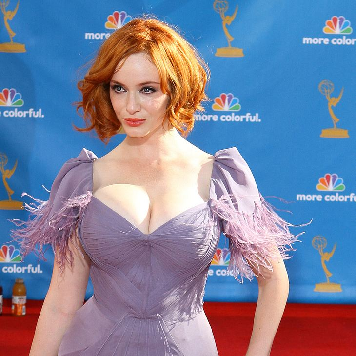 Christina Hendricks Mad Men Star Verliert Teures Armband
