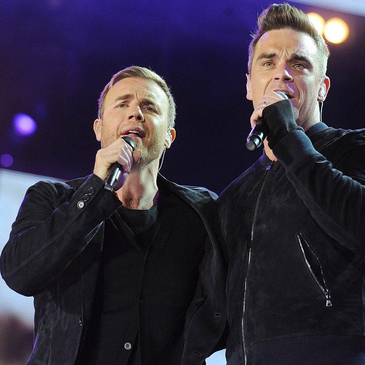 Robbie Williams & Gary Barlow: Gewichtskampf
