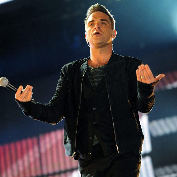 Robbie Williams: Angst vor Doppelbelastung