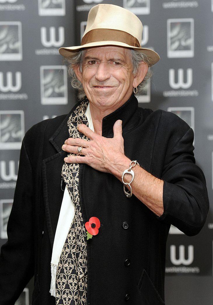 Keith Richards will nicht geschlagen haben