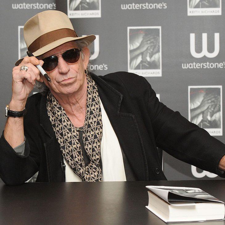 Keith Richards stolz auf seinen neuen Ruf