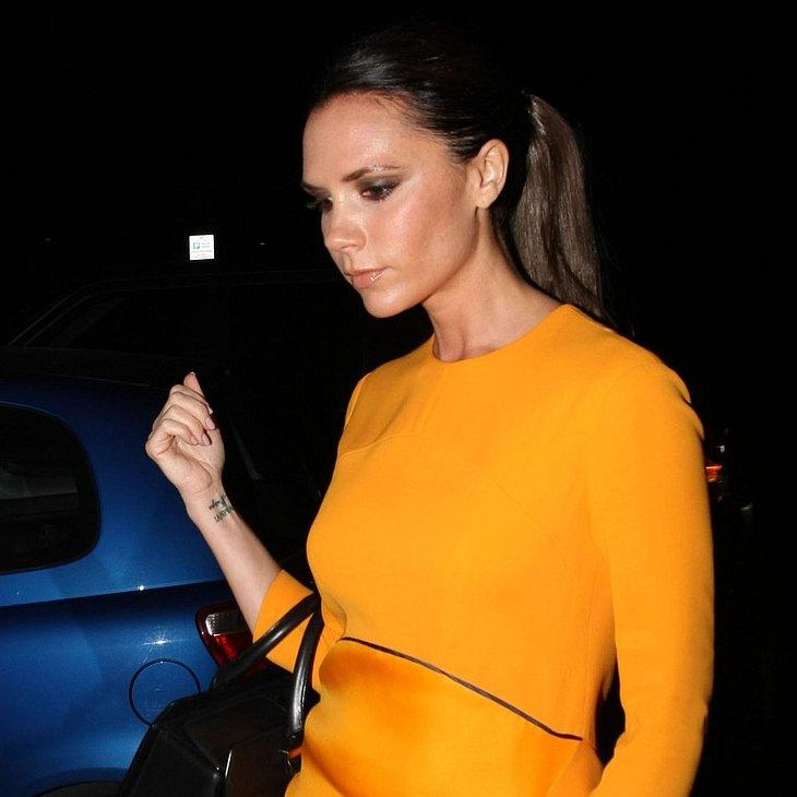 Victoria Beckham: Rückenprobleme