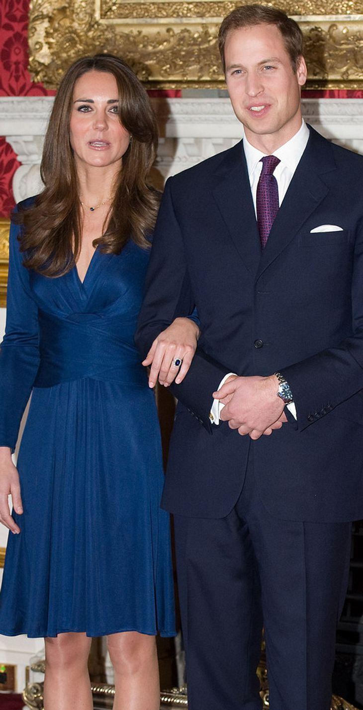 Prinz William & Kate Middleton: Babypläne nach der Hochzeit