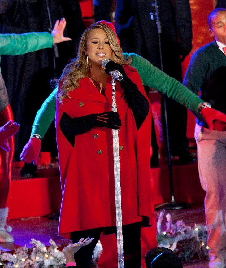 Mariah Carey ist der Weihnachtsstar
