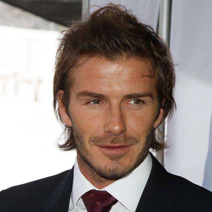 Victoria und David Beckham gehen zur königlichen Hochzeit