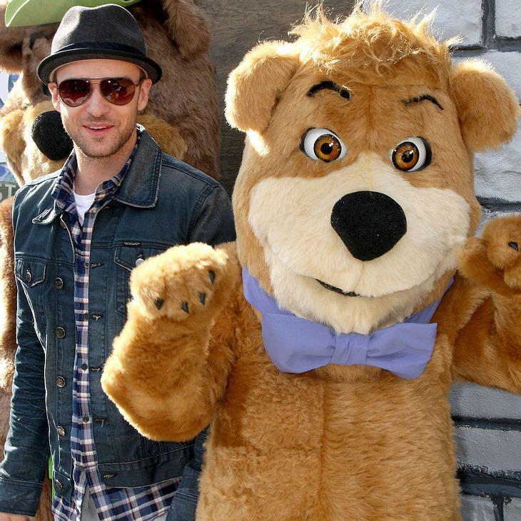 """Justin Timberlake will mit """"Yogi Bear""""-Rolle etwas gut machen"""