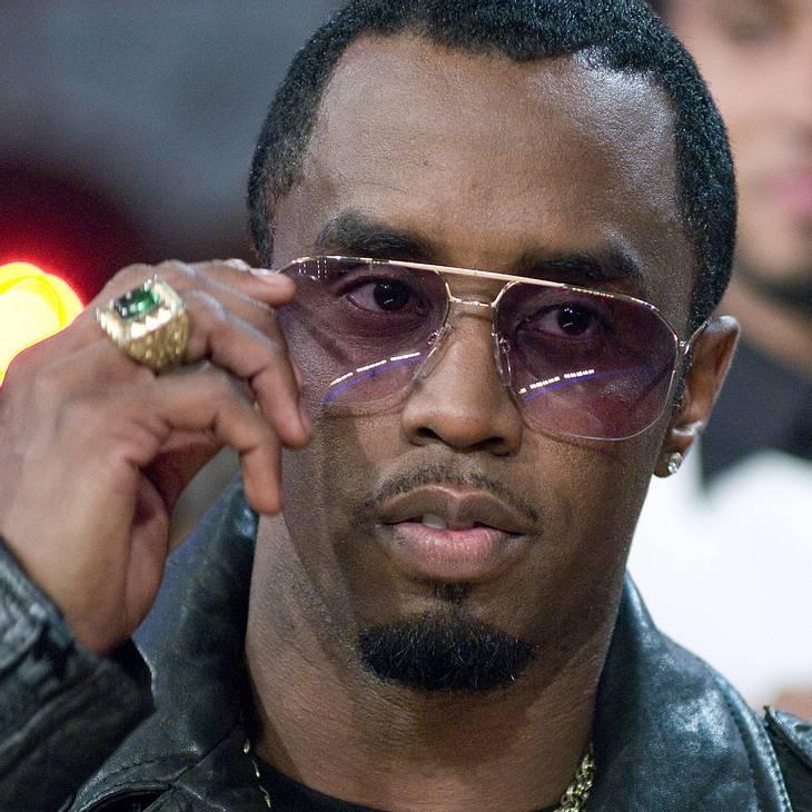 P.Diddy kämpft bei Promo-Tour mit Grippe