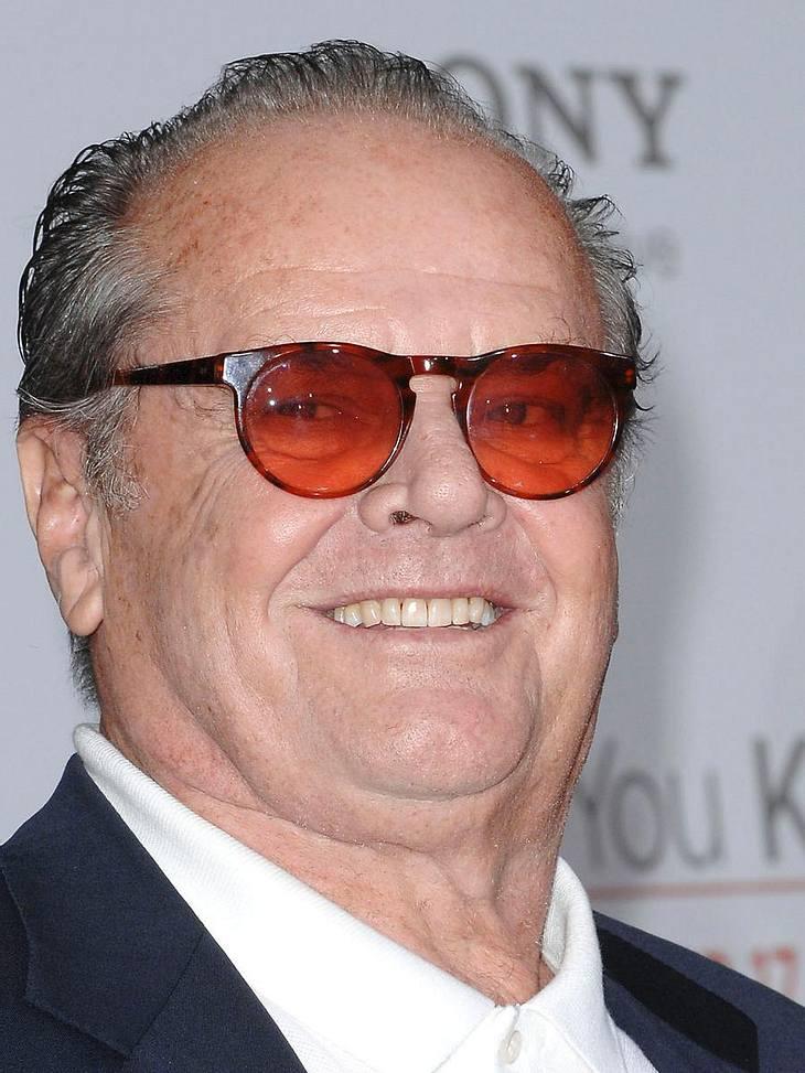 Jack Nicholson ist ein treuer Fan der LA Lakers