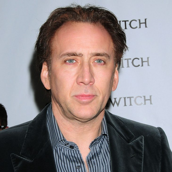 Mit Nicolas Cage geht's momentan steil bergab
