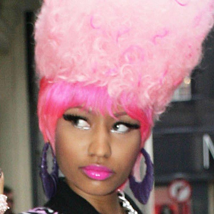 Nicki Minaj: Verrückte Outfits für ihre Fans