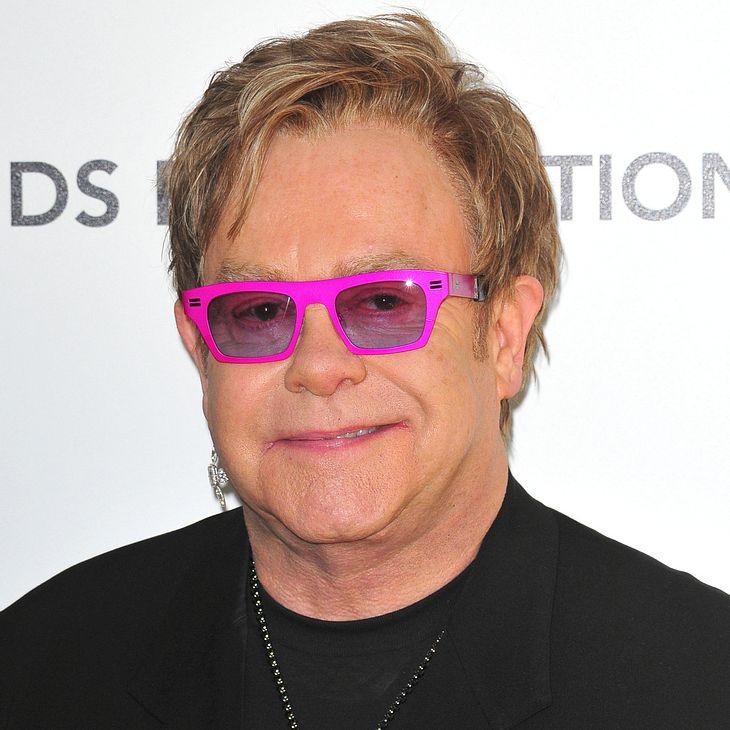 Elton John: Familie hat Priorität