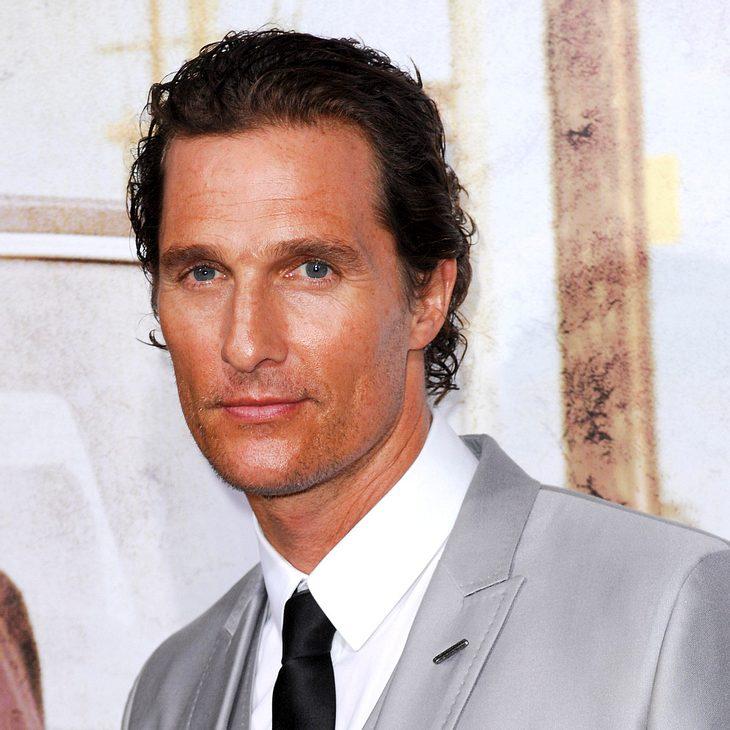 Matthew McConaughey schwärmt vom Strippen