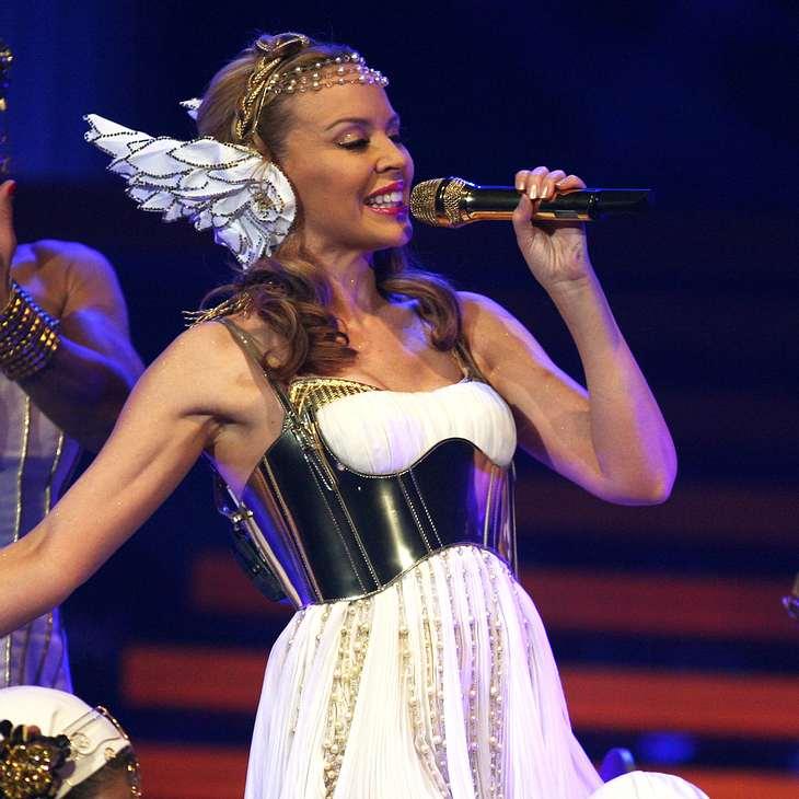 Kylie Minogue macht kranke Kinder glücklich