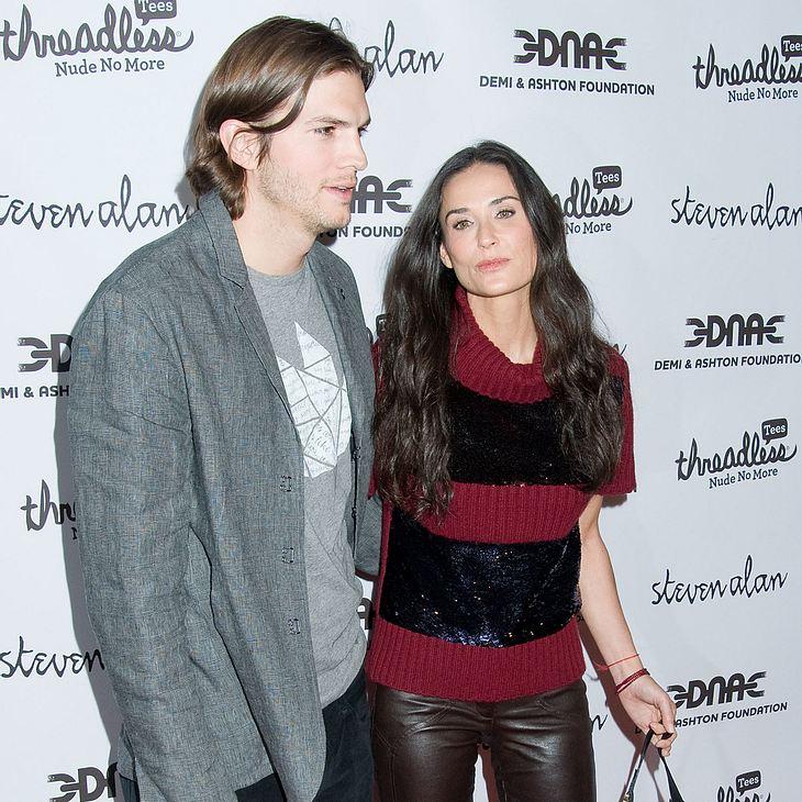 Ashton Kutcher & Demi Moore: Campingurlaub
