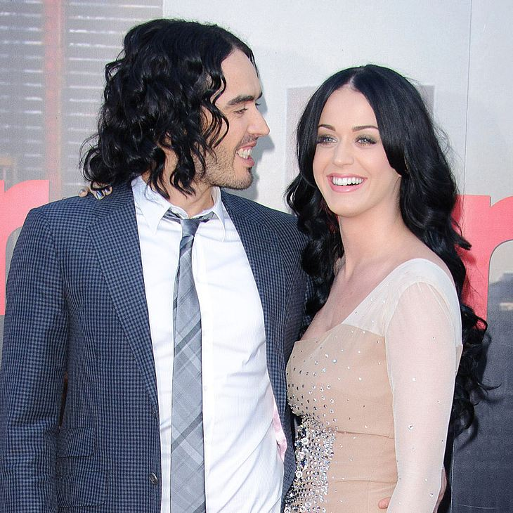 Katy Perry & Russell Brand dementieren Eheprobleme